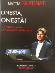 Onestà, Onestà ! il libro di Mattia Fantinati