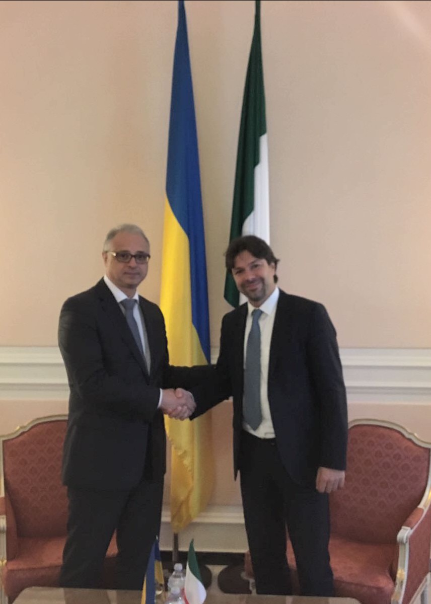 Incontro con Ambasciatore Ucraino