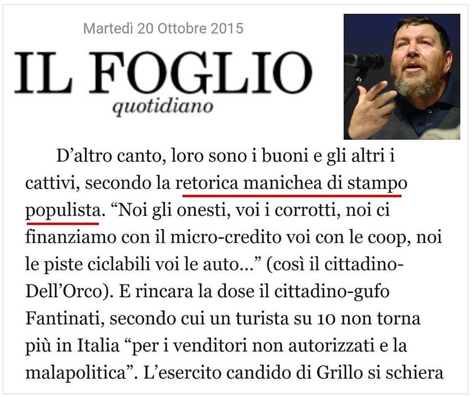 Mi Dispiace Giuliano Ferrara....