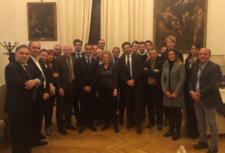 Apindustria Vicenza in Parlamento: con Fantinati e Di Maio per discutere i problemi delle imprese